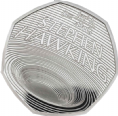 Stephen Hawking 2019 Brilliant Uncirculated  Royal Mint 50p